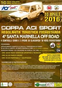 4° santa Marinella Off Road - locandina