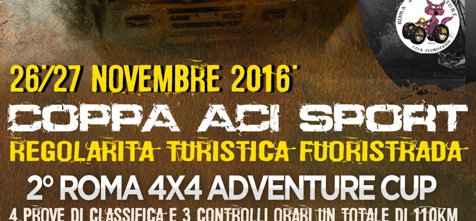 2° Roma 4X4 Adventure CUP