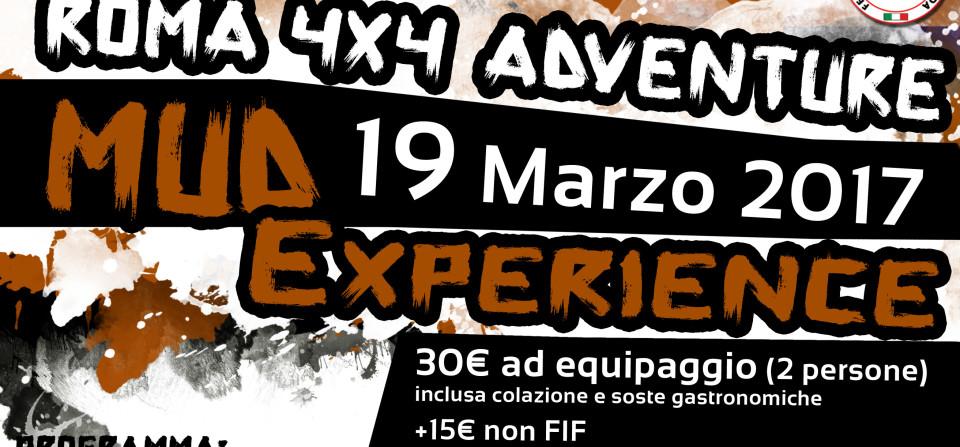 Roma 4×4 Adventure MUD EXPERIENCE
